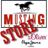 Mustang Jeans, Pepe Jeans, S.Oliver, Devergo